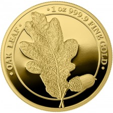 1 oz Gold Round | The Oak Leaf 2019 (Proof)
