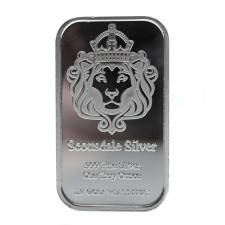 "Scottsdale Mint | 1 Oz ""The One"" Silver Bar"
