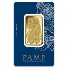 1 Oz PAMP Suisse Fortuna Gold Bar (New w/Assay)