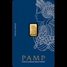1 Gram PAMP Suisse Gold Bar (In Assay)