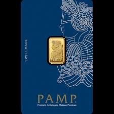 2.5 Gram PAMP Suisse Gold Bar (In Assay)