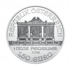 2019 Austria 1 Oz Silver Philharmonic (BU)