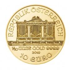 2019 Austria 1/10 Oz Gold Philharmonic (BU)