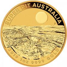 """2019 Australia 1 Oz Gold """"Super Pit"""""""