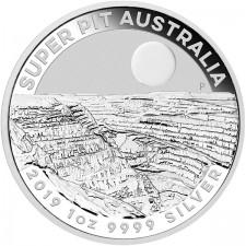 "2019 Australia 1 Oz Silver ""Super Pit"""
