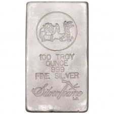 SilverTowne Poured | 100 Oz Silver Bar