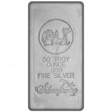 SilverTowne Poured | 50 Oz Silver Bar