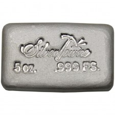 SilverTowne Poured | 5 Oz Silver Bar
