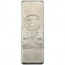 SilverTowne Poured | Kilo (32.15 oz) Silver Bar