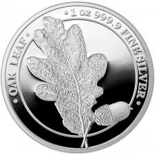 1 oz Silver Round | The Oak Leaf 2019 (Proof)