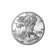 Sunshine Minting (SMI) 1 Oz Walking Liberty Silver Round