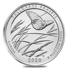 2020 5 Oz Silver ATB Tallgrass Prairie Nat'l Preserve (BU)
