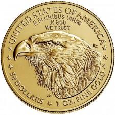 2021 1 Oz American Gold Eagle Type 2 (BU)