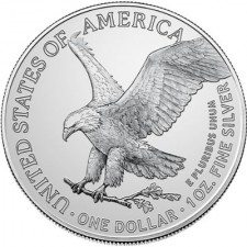 2021 1 Oz American Silver Eagle Type 2 (BU)