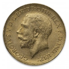 Great Britain King George Gold Sovereign