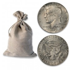 Buy $100 Face Bag of 40% Silver 1965-1970 Kennedy 50c