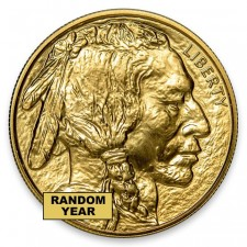 Random Date 1 Oz Gold Buffalo