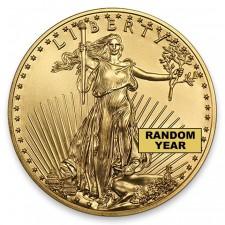 1/10 Oz American Gold Eagle Obverse