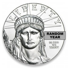 1/2 Oz American Platinum Eagle Obverse