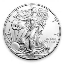 1998 American Silver Eagle BU