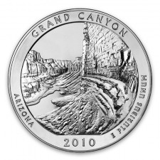 2010 Grand Canyon 5 Oz American Silver ATB