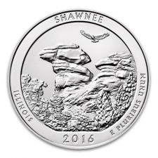 2016 Shawnee National Forest 5 Oz American Silver ATB