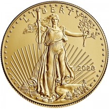 2020 1/2 Oz American Gold Eagle (BU)