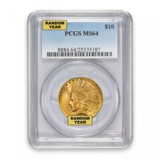 $10 Indian Gold Eagle PCGS MS64 Obverse