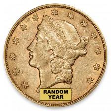 $20 Liberty Gold Double Eagle AU (Random)