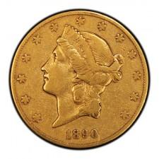 $20 Liberty Double Eagle Very Fine (VF) Obverse