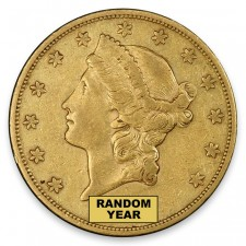 $20 Liberty Double Eagle Extremely Fine (XF) Dates Our Choice Obverse