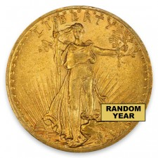 $20 Saint-Gaudens Double Eagle Brilliant Uncirculated (BU) Random