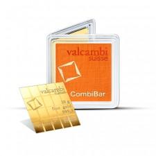 20 Gram Gold Valcambi Divisble CombiBar (20 x 1 Gram)