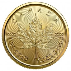 2020 Canada 1/20 Oz Gold Maple Leaf (BU)