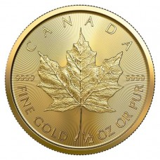 2020 Canada 1/2 Oz Gold Maple Leaf (BU)