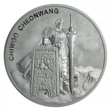 2019 South Korea 1 Oz Silver Chiwoo Cheonwang (BU)