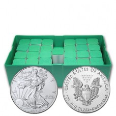 2020 American Silver Eagle Monster Box of 500 Coins