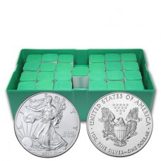 2021 American Silver Eagle Monster Box of 500 Coins