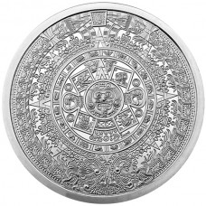 2 oz Silver Round | Aztec Calendar (BU)
