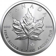 2019 Canada 1 Oz Silver Maple Leaf (BU)