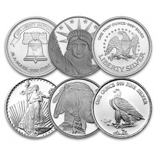 1 Oz .999 Silver Round (Design Our Choice)