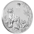 2022 Australia 1/2 Oz Silver Lunar Tiger Coin (BU)