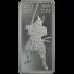 10 oz Silver Bar | Samurai Warrior