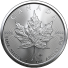2021 Canada 1 Oz Silver Maple Leaf (BU)