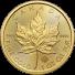 2021 Canada 1 Oz Gold Maple Leaf (BU)