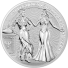 5 oz Silver Round | Italia & Germania Allegories 2020 (BU)